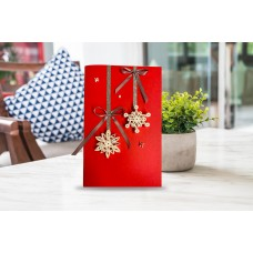 Handmade Christmas Cards Made With Quilling Paper Art – Hand Crafted Unique Greeting Cards for Mother's DayBirthdaysAnniversaries