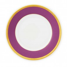 Haviland Laque De Chine Amethist and Gold Charger Plate (Purple)