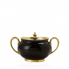Haviland Laque de Chine Sugar Bowl (Black)