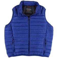 Hawke & Co. Big & Tall Lightweight Packable Down Vest (Blue, 3XL)