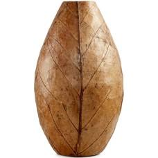 Heart of Haiti Oval Tobacco Leaf Vase