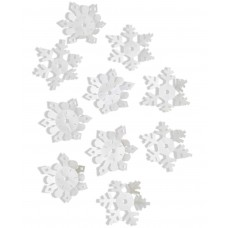 Holiday Lane 3D Snowflake Wall Decal 10-Pc. Set
