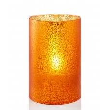 Holiday Lane 4″ X 6″ Led Candle Holder (Orange)