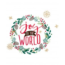 Holiday Lane Joy To The World Wall Decal
