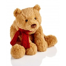 Holiday Lane Quinn 13″ Brown Plush Bear