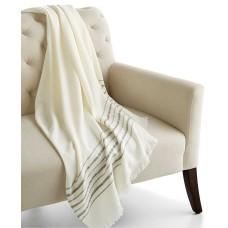 Home Design Studio Border Stripe Throw Blanket
