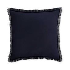 Home Design Studio Fringe Pillow Navy