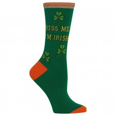 Hot Sox Women's Conversation Starter Novelty Casual  Rubber Socks