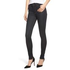 Hudson Jeans Barbara High Skinny Jeans (Dark Blue, 27)