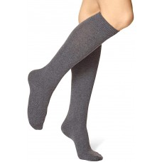 HUE Women's Flat Knit Knee-High Socks
