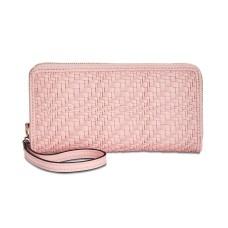 Inc International Concepts Blakke Zip-Around Wristlet Wallet (Pastel Pink, One Size)