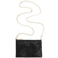 INC International Concepts Demir Shiny Mesh Convertible Belt Bag