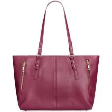 INC International Concepts Emaa Medium Handbag Tote (Red)