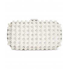INC International Concepts Kiana Imitation Pearl Small Clutch – Ivory