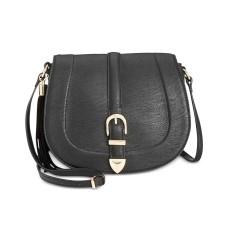 INC International Concepts Madelynn Belt Saddle Bag  (Black)