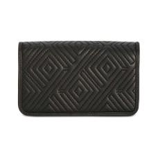 INC International Concepts Quiin Phone Handbag Crossbody (Black)