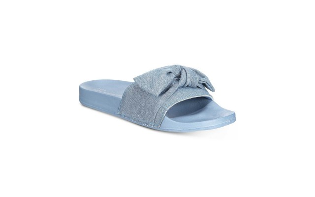 Women's Knotted Slide Slippers