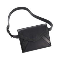 INC International Concepts Womens Metallic Detail Envelope Belt Bags