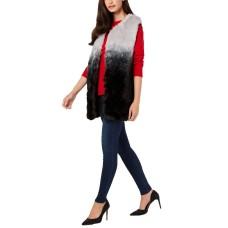 INC International Concepts Women's Ombré Faux-Fur Vests