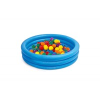 Inflatable Plastic Ball Pool for Birthday Parties at Home for Kids, Toddlers, Boys & Girls, Paddling Pools with Balls for Indoor Parties and Play Dates, Blow Up Ball Pits for Pets, Dogs, Puppies and Cats