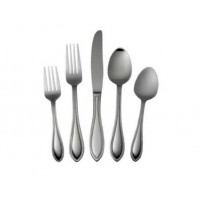 International Stainless American Bead 5-piece Flatware Place Setting