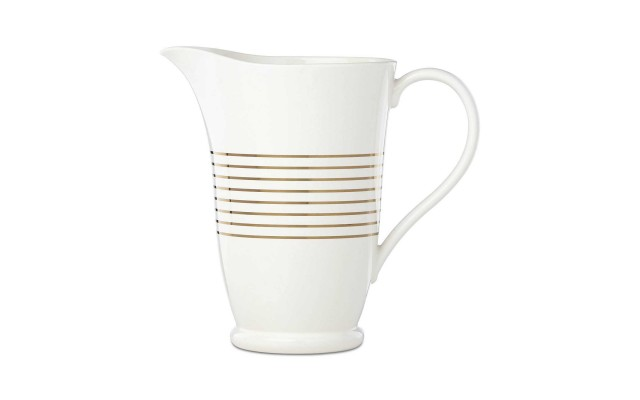 Charles Lane™ Gold-Tone Stripe Accents Pitcher