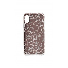 Kate Spade New York Floret Clear iPhone Xs/X Case (Clear Multi)