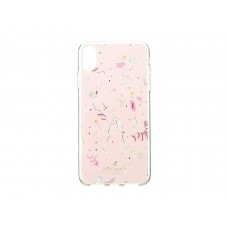 Kate Spade New York Women's Jeweled Champagne Phone Case for iPhone X Plus (Multi)