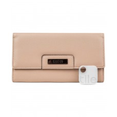 Kenneth Cole Reaction Never Let Go Trifold Flap Clutch Wallets