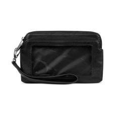 Kenneth Cole Reaction Tech Double Zip Wristlet Wallet(Black)