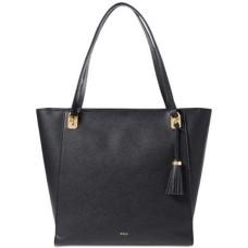 Lauren Ralph Lauren Elizabeth Large Handbag Tote (Black)