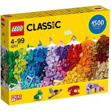 LEGO Classic 10717 Bricks Bricks Bricks 1500 Piece Set – Encourages Creativity in all Ages – Ideal for Creators of all Ages
