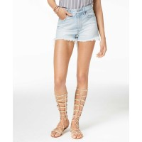Lucky Brand Embroidered Denim Shorts (Pastel Blue, 30)