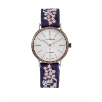 Lucky Brand Ventana Embroidered Leather Watch