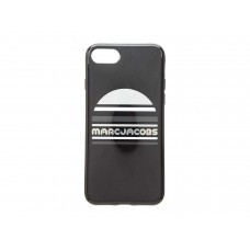 Marc Jacobs Women's Exaggerated Sport Logo iPhone 8 Case, Black Multi