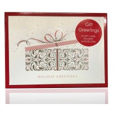 Masterpiece Studios Presenting Gift Greetings 10 Greeting Cards with Envelopes