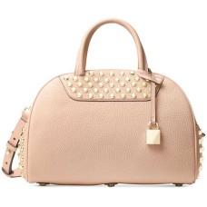 Michael Kors Austin Medium East West Leather Satchel – Ballet Pink