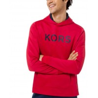 Michael Kors Men's Scuba Side-Snap Logo Hoodies