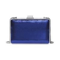 Michael Kors Pearl Medium Box Clutch – Electric Blue