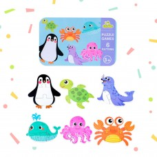 My Baby's First Puzzle Wooden Jigsaw Puzzles for Toddlers 2 3 4 Years Old- Cognitive Development and Montessori Learning Puzzle Sets