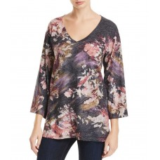 Nally & Millie Women's Abstract Floral Print Tunic