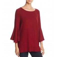Nally & Millie Women's Bell-Sleeve Fleece Tunic Tops