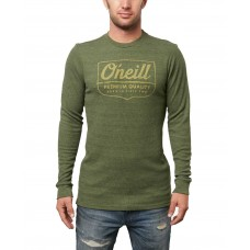 O'Neill Men's Script Graphic Thermal T-Shirt (Green, M)