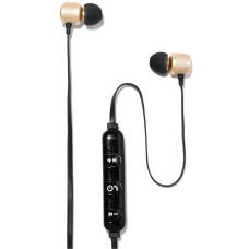 Polaroid Bluetooth Earbuds (Gold Metallic )