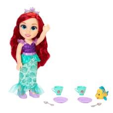 Princess Doll Disney Tea Time with Ariel and Flounder