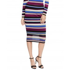 Rachel Roy Womens Sweater Striped Pencil Skirts