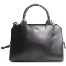 Radley London Millbank Leather Handbag Satchel (Black)