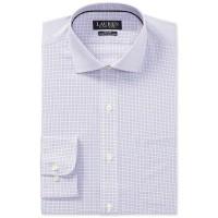 Ralph Lauren Men's Dress Shirt (Pink/Blue, 17.5×36/37)