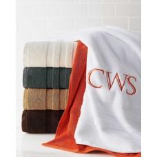 Ralph Lauren Palmer Wash Towel 13 in X 13 in REGATTA CREAM