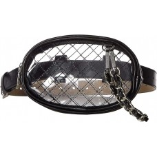 Steve Madden Women's Clear Belt Bag
